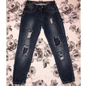 Justice Jegging Jeans Size 7